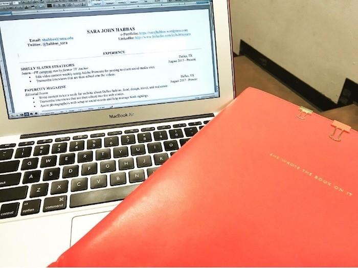 Tips and tricks for the most eye-catching resume \u2013 SMU Daily Campus