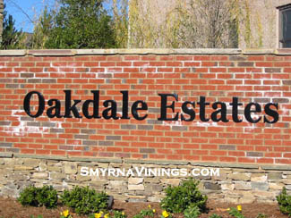 Oakdale Estates - Smyrna Vinings Real Estate