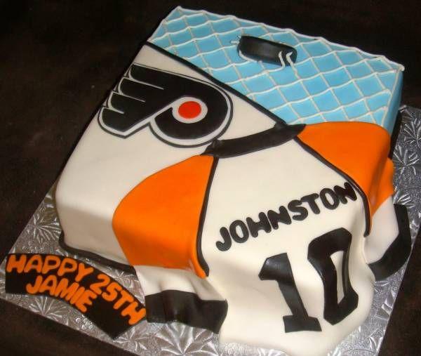 9 NHL Birthday Cakes Photo - Hockey Birthday Party Cake, Hockey