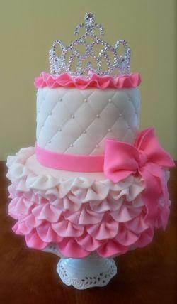 Small Of Princess Birthday Cakes