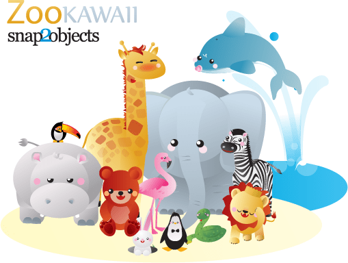 Images Of Cute Wallpapers For Mobile 12 Free Vector Kawaii Zoo Animals