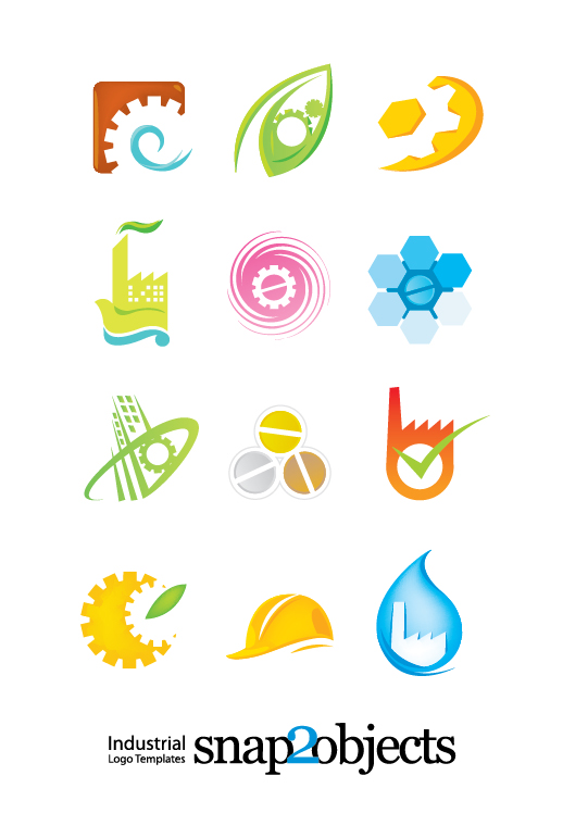 Cute Hope Wallpapers Free Vector Industrial Logo Template