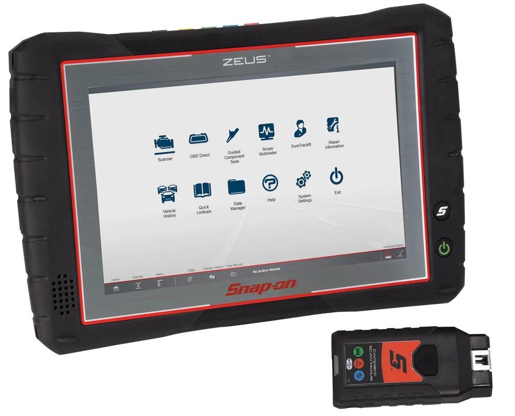 Zeus Diagnostic And Information System Snap On Diagnostics