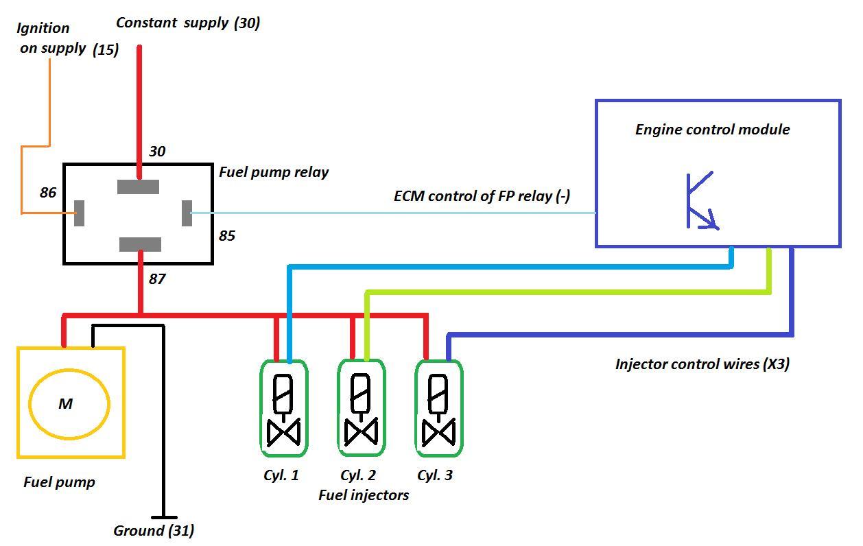 Opel Fuel Pump Diagram Wiring Diagrams Img Vauxhall Schema Relay