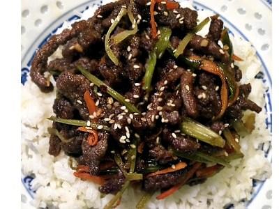 30 minute easy Szechuan Beef recipe!