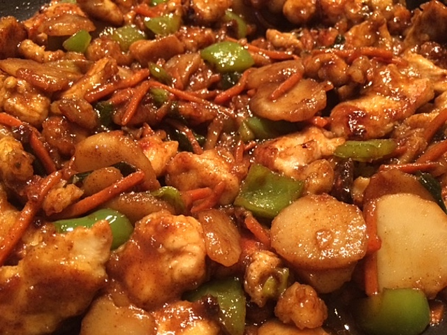 Chicken with garlic sauce sndwchs etc feeling bored with plain old chicken dishes i decided to try my hand at making my own version of chicken with garlic sauce easy chinese forumfinder Gallery