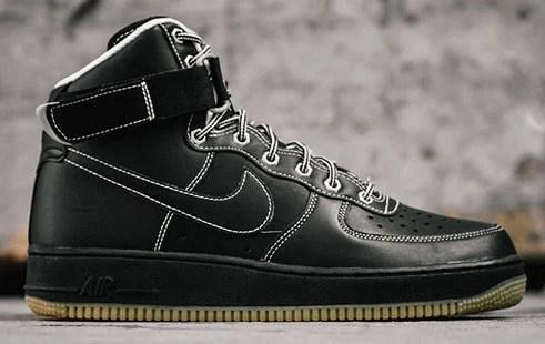 Nike Air Force 1 High 39workboot39 Black White Sneakerfiles