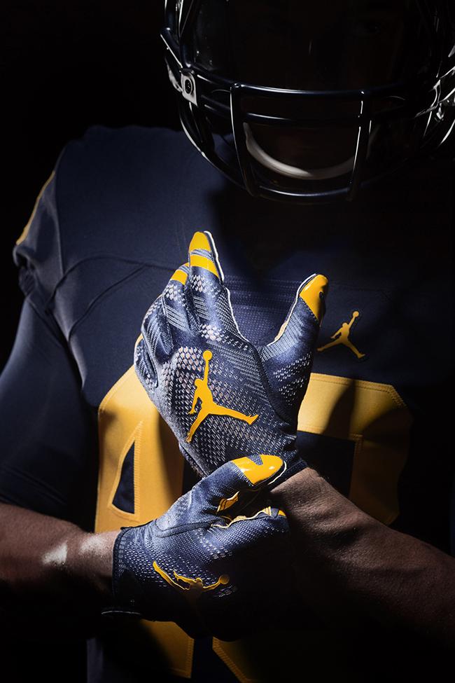 Unc Hd Wallpaper Michigan Air Jordan Football Uniforms Sneakerfiles
