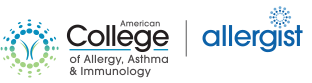 American College of Allergy, Asthma and Immunology Link