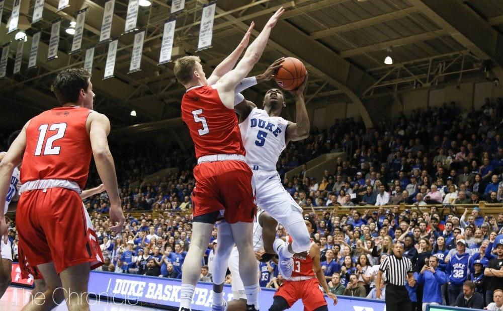 Duke Blue Devils vs Hawks