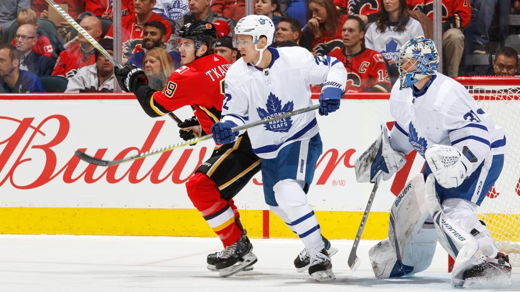 Leafs vs Flames