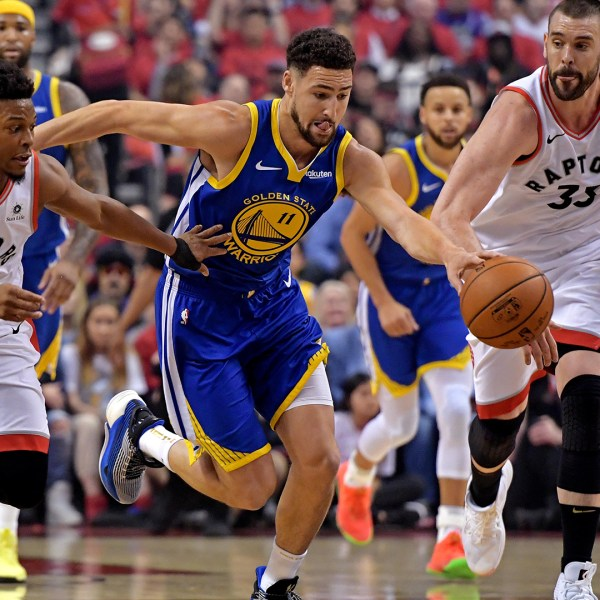 Raptors vs Golden State 2