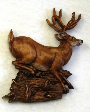 Deer Ornament - very unique at SnodCraft