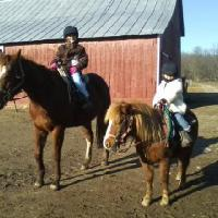 girls riding