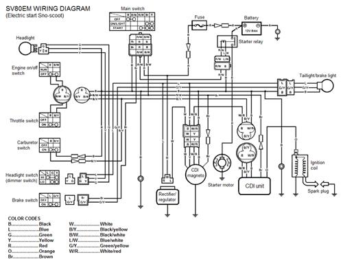 kick start only wiring diagram