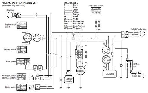 start wiring diagrams kick start wiring diagram goodall start all