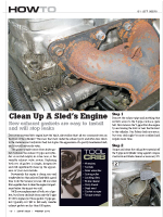 Replace Leaking Exhaust Gaskets