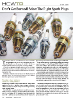 Select the Right Spark Plugs