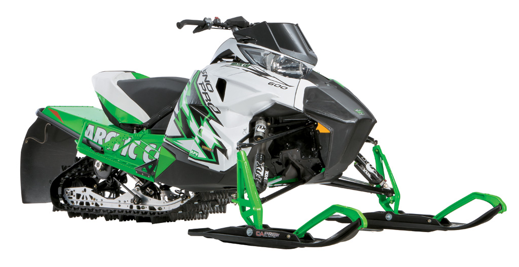 2012 Arctic Cat Sno Pro 600 Specs and Photos - Snowmobile