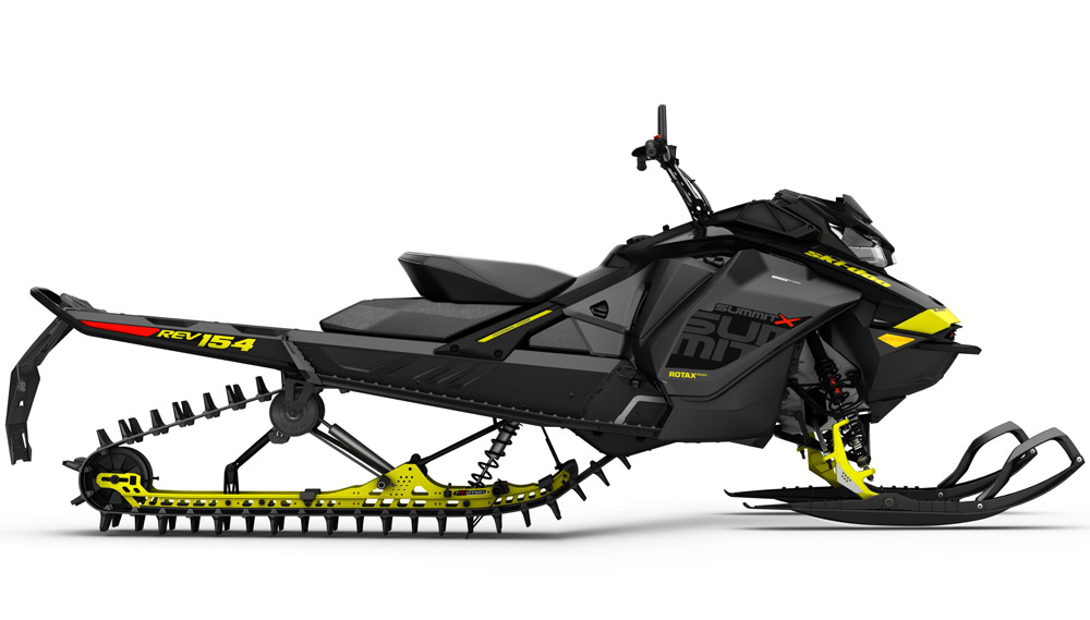 Ski-Doo Offers New 850cc Mountain Snowmobile for 2017 - Snowmobile