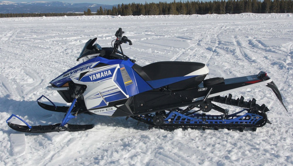Thoughts from High atop the Mountain - Snowmobile