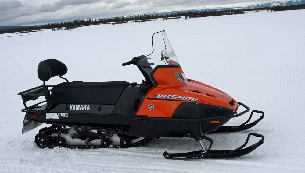 Then Now Yamaha39s Vk540 Snowmobilecom