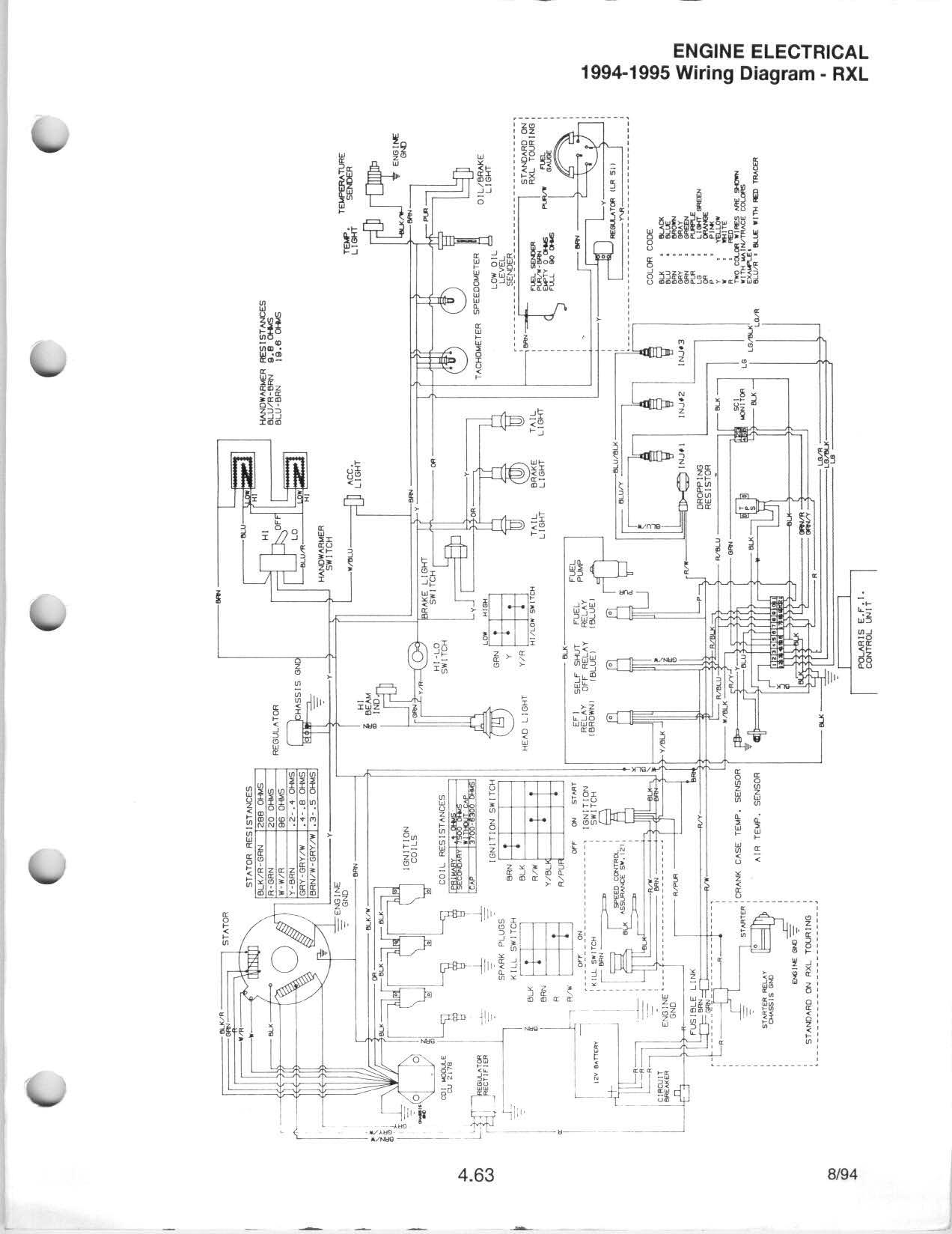 1991 polaris wiring diagram