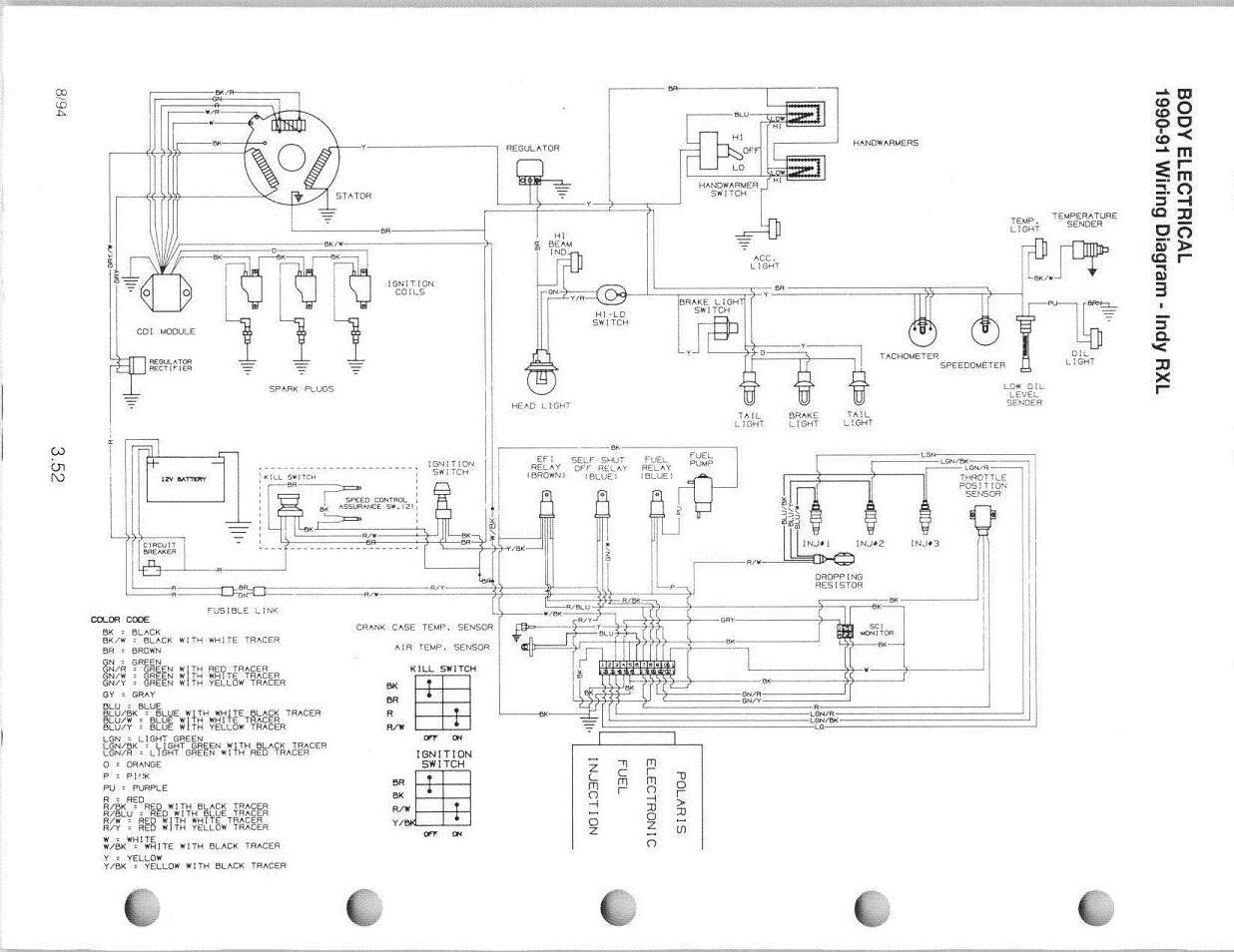 92 polaris trailblazer wiring schematic