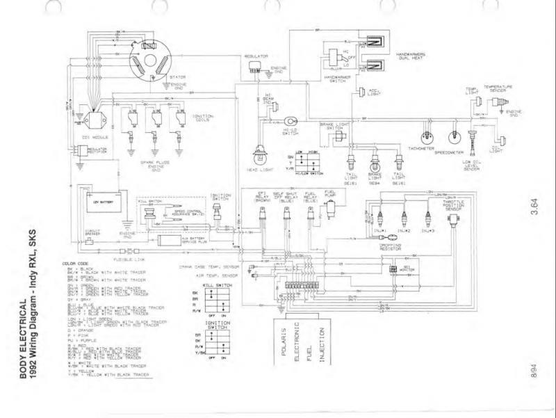 polaris indy 650 wiring diagram