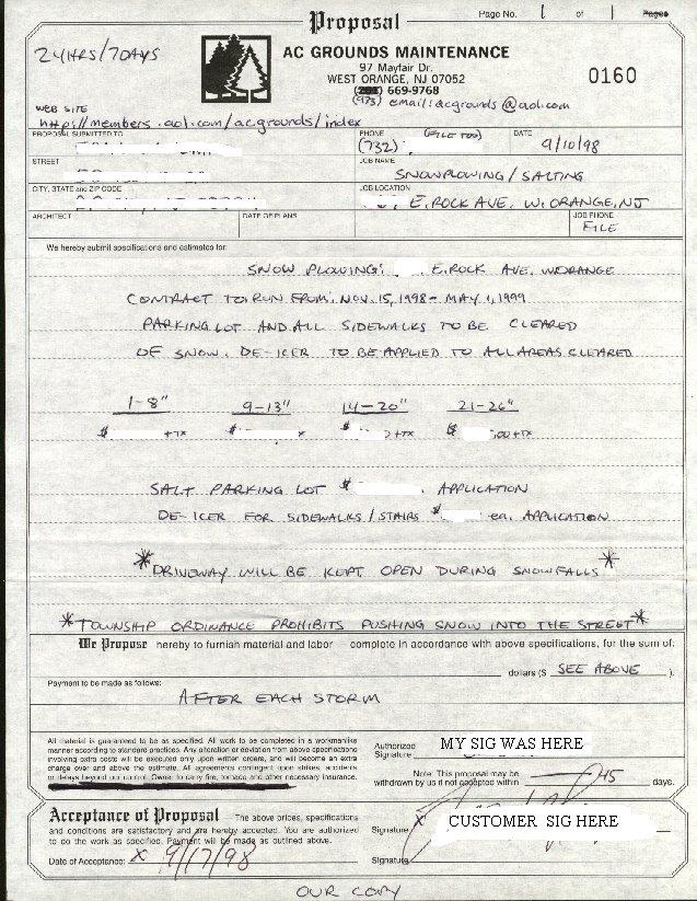snow removal contract forms - Vatozatozdevelopment
