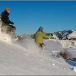 Sun Mountain Lodge snow shoe