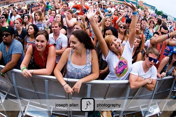 GAF crowd