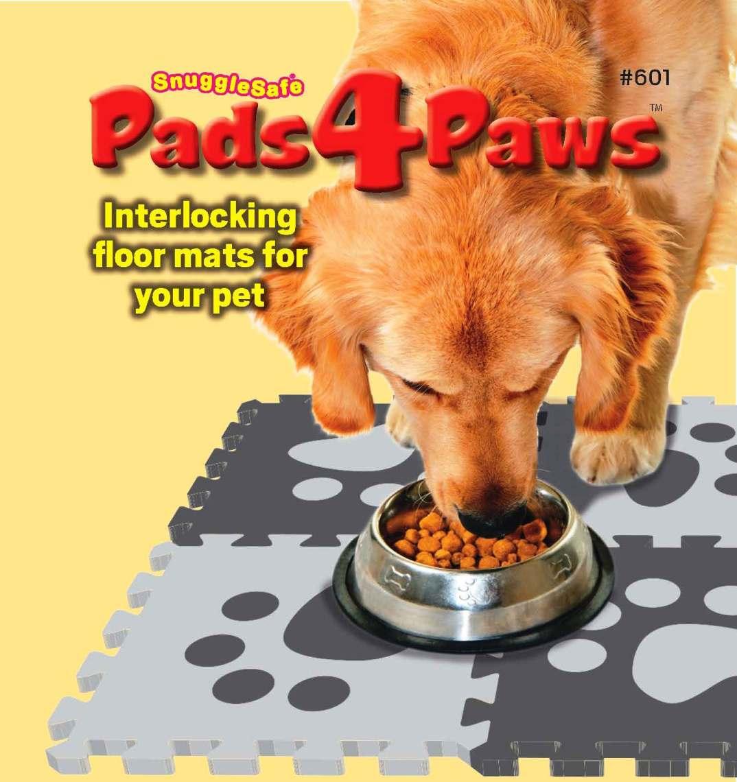 Pads4Paws label artwork websiteshop