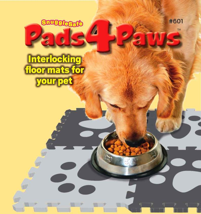 Pads4Paws label artwork websiteshop