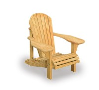 Amish Wooden Child's Adirondack Chair