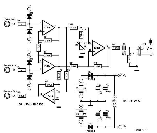 ecg circuit design electronics forums