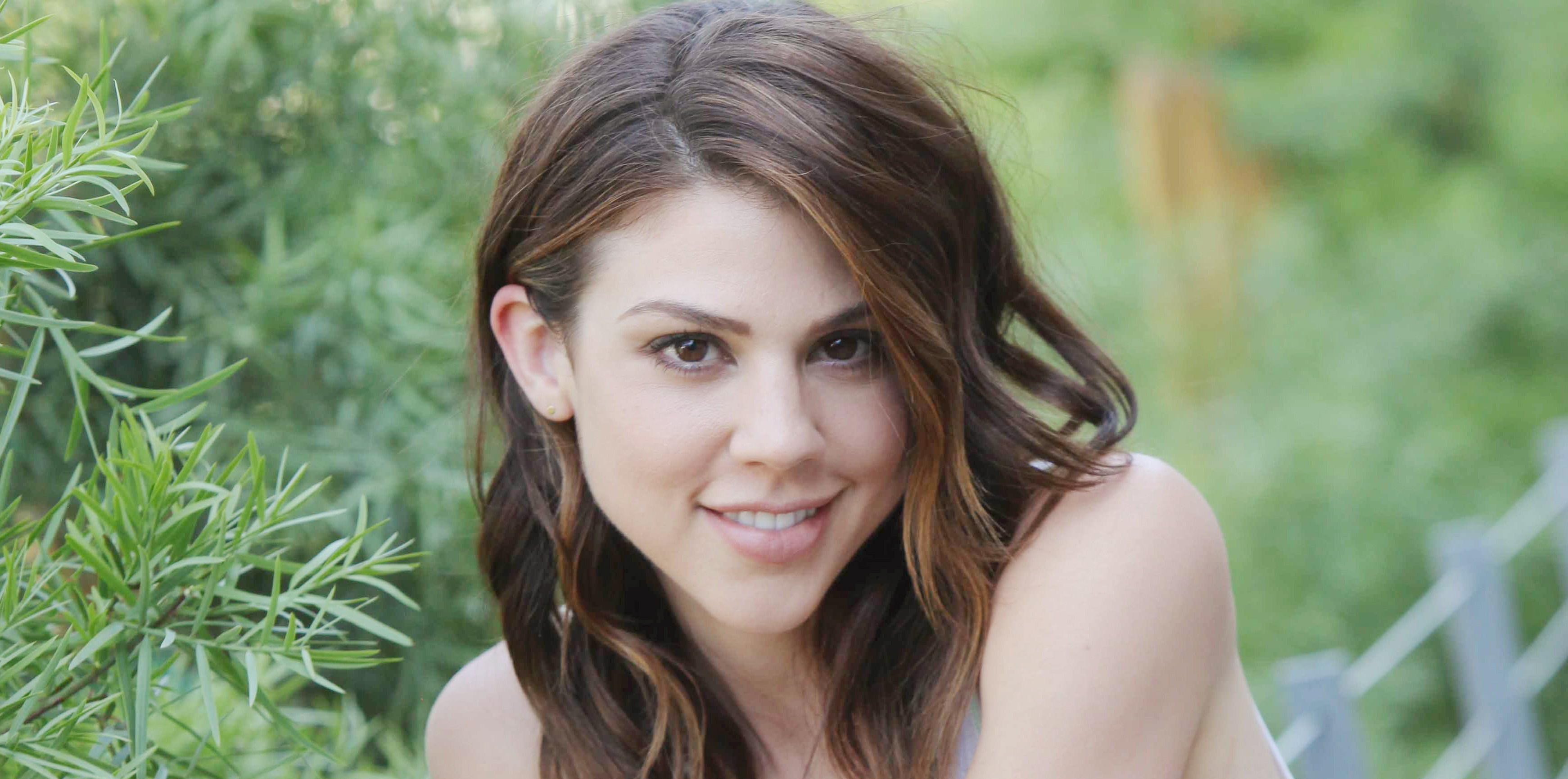 "Kate Mansi ""Days of our Lives"" Set with Kate Mansi, Billy Flynn, Robert Scott Wilson NBC Studios Burbank 06/23/15 © Howard Wise/jpistudios.com 310-657-9661"