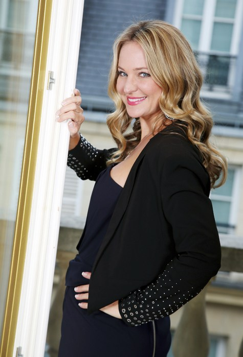 Sharon Case Photo Shoot inParis