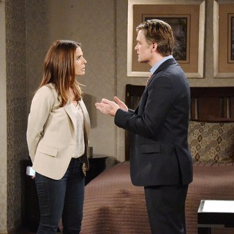 "Kristian Alfonso, Daniel Cosgrove ""Days of our Lives"" Set NBC Studios Burbank 04/22/16 © XJJohnson/jpistudios.com 310-657-9661 Episode # 12934 U.S.Airdate 10/05/16"