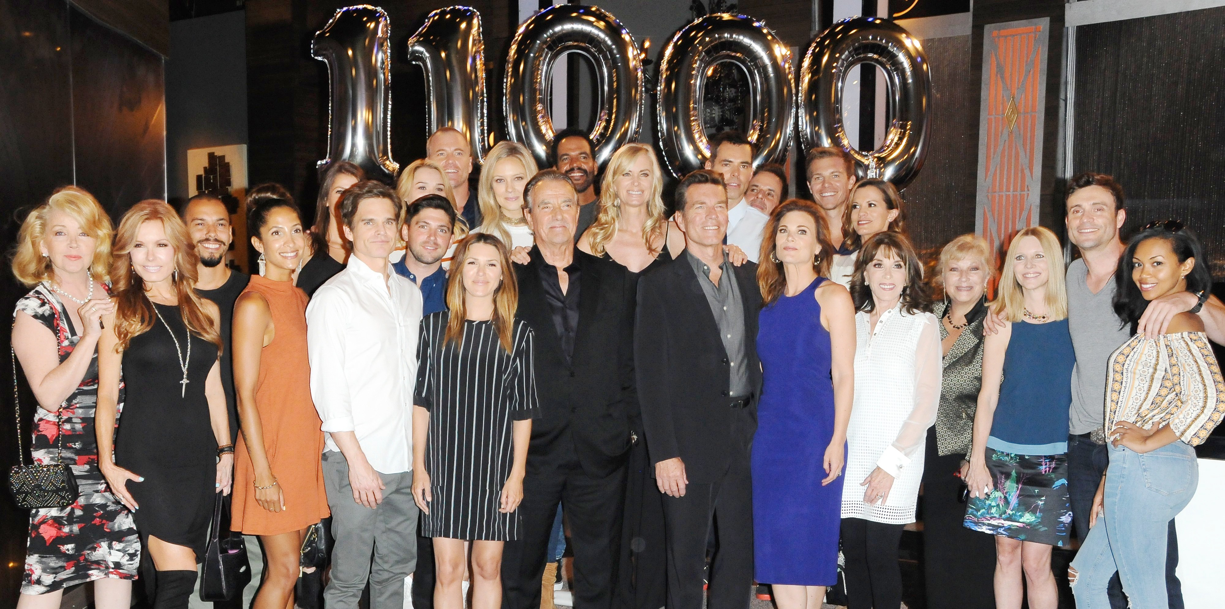 The Young and the Restless Cast THE YOUNG AND THE RESTLESS Celebrate Their 11,000th Episode Stage 41 CBS-Television City Los Angeles, CA 9/8/16  © Jill Johnson/jpistudios.com 310-657-9661