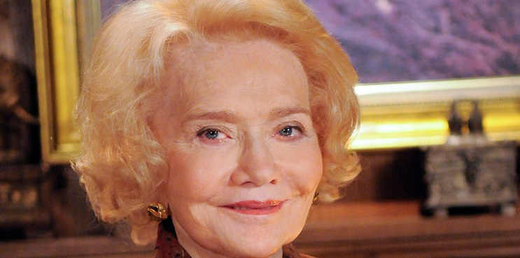 """ALL MY CHILDREN -  Agnes Nixon appears on All My Children's 40th Anniversary show airing January 4th and 5th on ABC Daytime's """"All My Children"""". """"All My Children"""" airs Monday-Friday (1:00 p.m. - 2:00 p.m., ET) on the ABC Television Network. AMC09 (ABC/Lorenzo Bevilaqua) AGNES NIXON"""