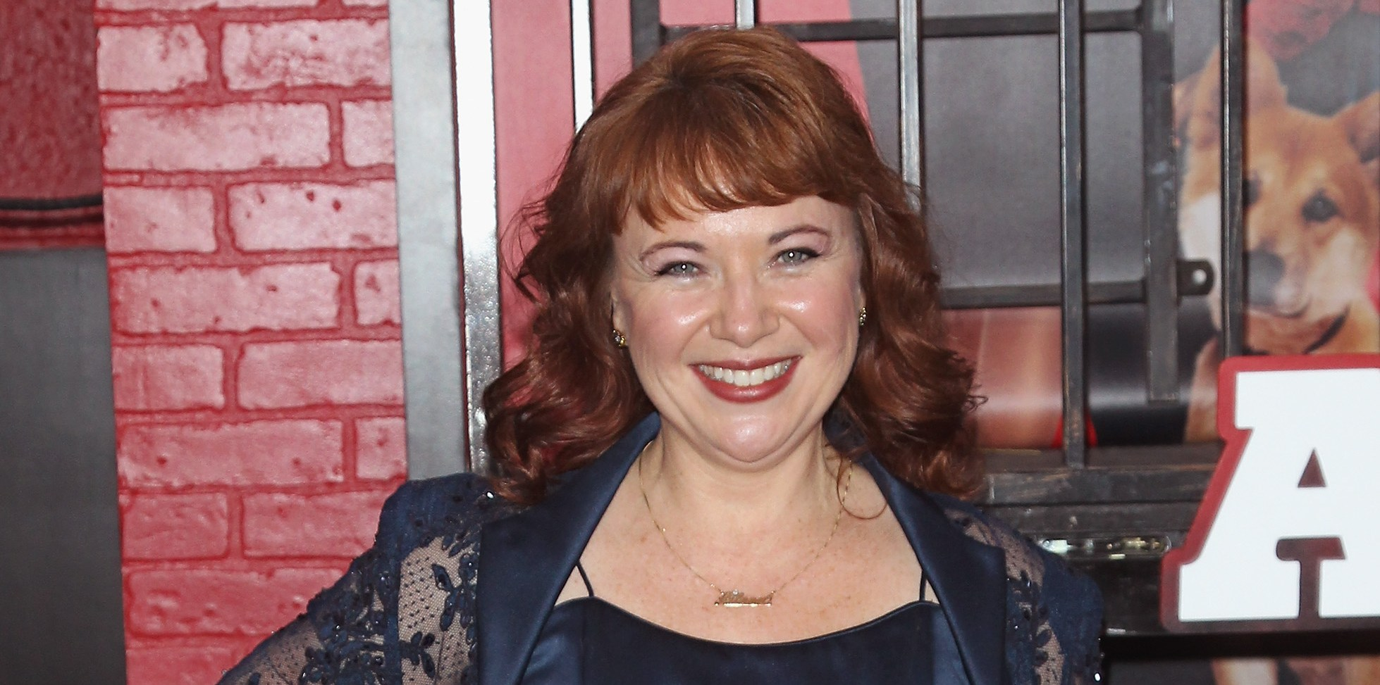 """NEW YORK, NY - DECEMBER 07:  Actress Aileen Quinn attends the """"Annie"""" world premiere at Ziegfeld Theater on December 7, 2014 in New York City.  (Photo by Jim Spellman/WireImage)"""
