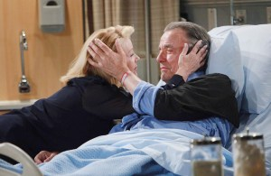 """Eric Braeden, Melody Thomas Scott """"The Young and the Restless"""" Set CBS television City Los Angeles 06/02/16 © Howard Wise/jpistudios.com 310-657-9661 Episode # 10961 U.S. Airdate 07/08/16"""
