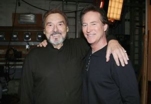 "Joe Mascolo, Drake Hogestyn ""Days of our Lives"" Set Celebrating Show Renewel NBC Studios Burbank 01/29/14 © Howard Wise/jpistudios.com 310-657-9661"