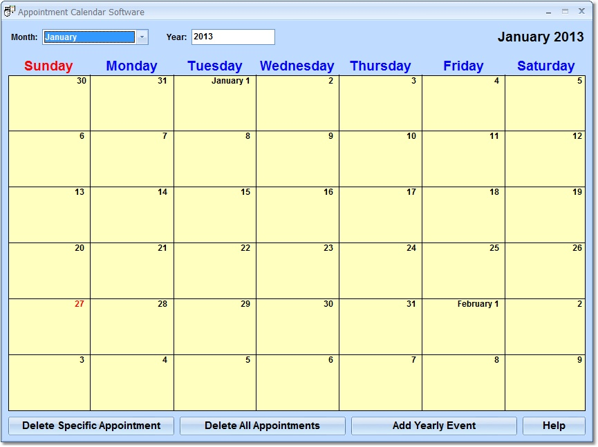 New appointment calendar software downloads