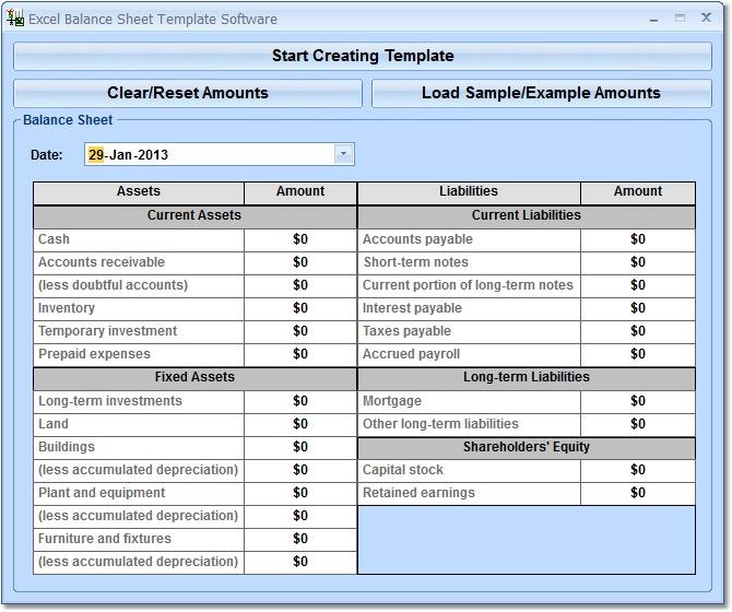 balance sheet format excel sheet free download - Ozilalmanoof