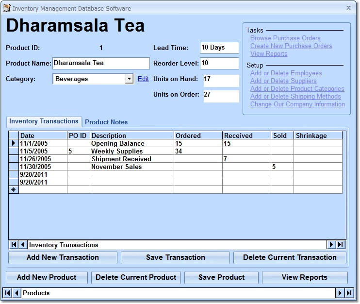 Inventory Management Database Software - Create a database for - how to create an inventory database