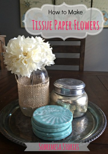 How to Make Tissue Paper Flowers Graphic