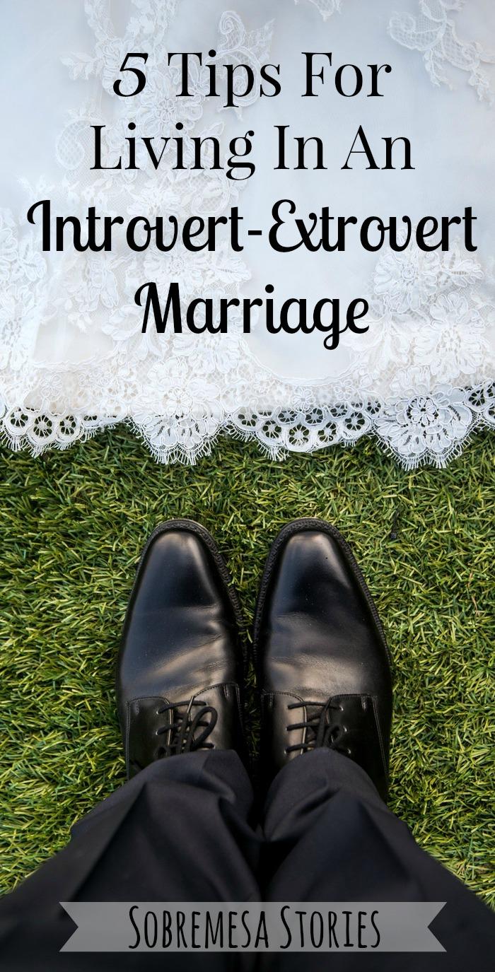 Introvert extrovert marriage