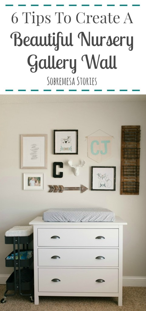 If you're dreaming of a beautiful nursery gallery wall, you've got to check out these tips! They'll help keep it cozy, balanced, and fun!